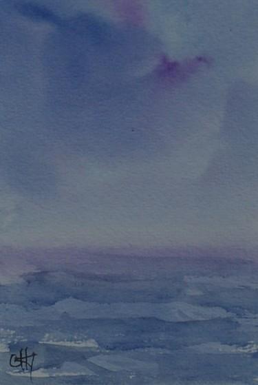 horizon dans la brume