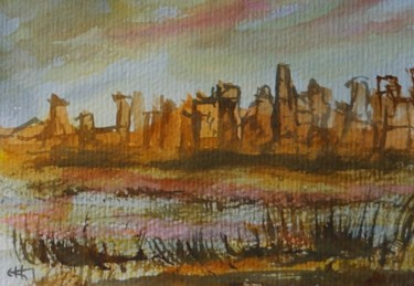 la ville détruite