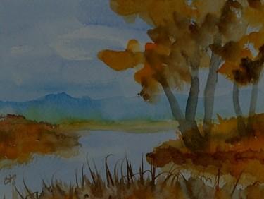 automne au ruisseau