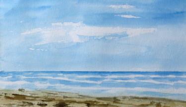 la plage foncée